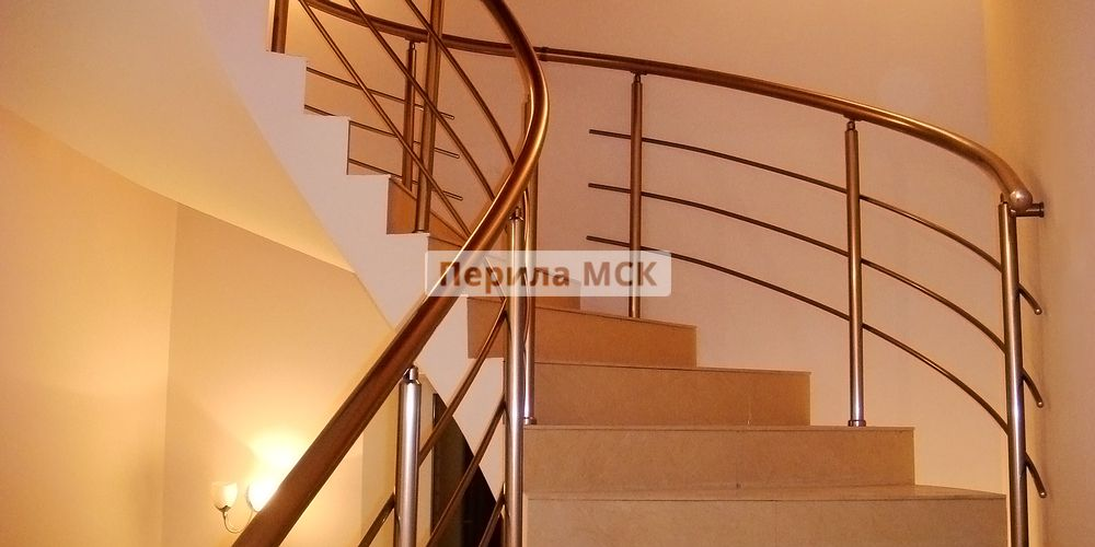 монтаж металлических лестниц в москве